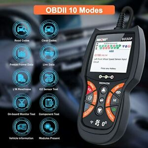 Innova 6030p Scanner Abs Check Engine Live Data Battery Test Diagnostic Tool