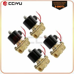 Air Suspension Valves Four 1 2 npt Electric Solenoid 250psi For Train Horn Fast
