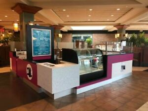 Ready To Sell 2019 Smoothie Ice Cream Custom built Food Kiosk For Sale In Wisc