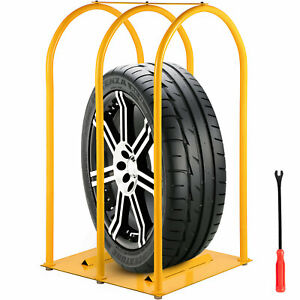 Tire Inflation Cage Tire Cage 3 bar Car Tire Inflation Tool With A Tire Changer