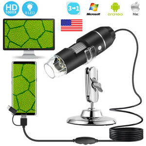 1000x Usb Digital Microscope Magnifier Endoscope Camera For Phone tablet laptop
