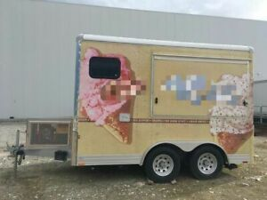 Wells Cargo 12 Ice Cream Concession Trailer Mobile Ice Cream Unit For Sale In