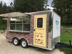 Used 2014 8 X 14 Street Food Vending Concession Trailer For Sale In South Mi
