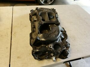 Weiand Action Plus Oval Port Intake Manifold Bb Chevy 8005