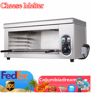 110v Cheese Melter Electric Salamander Broiler Bbq Gril Restaurantcatering Top