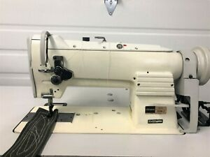 Consew 255rb 2 Walking Foot Big Bobbin reverse 110v Industrial Sewing Machine