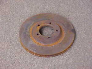 1966 67 68 Plymouth Dodge Chrysler 1969 Imperial Nos Mopar Disc Rotor Fury 300