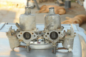 Mg Mgb Early Factory Su Hs4 Carbs One Pair