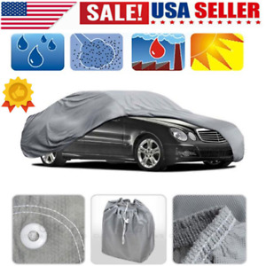 S Xxl Peva Car Cover Sun Uv Dust Rain Resistant Protection With Reflect Light