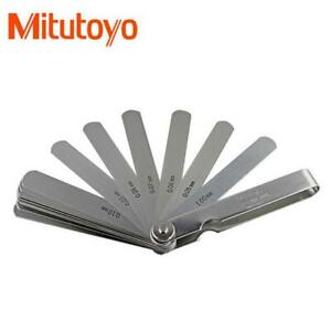 Mitutoyo 184 313s Thickness Gage 0 05 1mm Range 28 Leaves