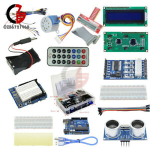 Ultimate Starter Diy Kit For Arduino Uno R3 1602 Lcd Servo Motor Relay Rtc Led