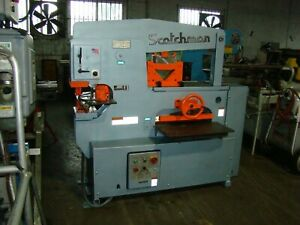 Scotchman Model 9012 24m 90 Ton Hydraulic Ironworker