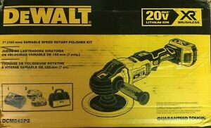 Dewalt 20v Max Xr Cordless Polisher Kit Rotary Variable Speed 7 inch 180 Mm