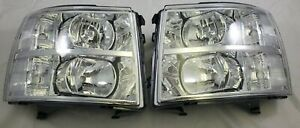 2007 2014 Chevrolet Silverado Chevy Direct Replacement Headlight Set