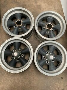Chevy Gm 14x7 Vintage American Racing Torque Thrust Wheels Camaro Gto Lh1065