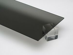 Acrylic Grey Tinted Plexiglass 1 8 X 12 X 12 Plastic Sheet 2064