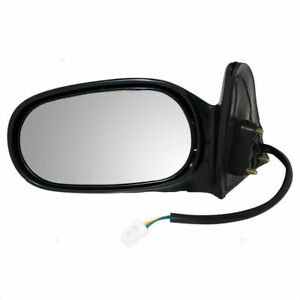 New 1998 2002 Fits Toyota Corolla Power Door Mirror Primed Left Side To1320129