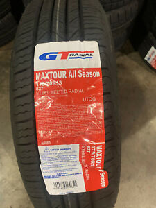 4 New 175 70 13 Gt Radial Maxtour All Season Tires
