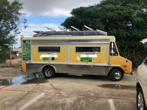 27 Chevrolet P30 Mobile Kitchen Food Truck Lunch Serving Truck For Sale In Te