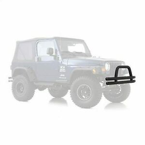 Smittybilt 3 Double Tube Front Bumper With Hoop Jb48 ft