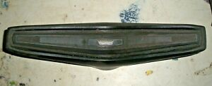 1970 1971 Ford Torino Ranchero Fairlane Falcon Black Horn Pad With Emblem Insert