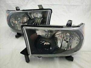 For 2007 2012 Toyota Tundra 2008 2013 Sequoia Jdm Style Headlight Set