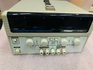 Tenma 72 7245 Laboratory Dc Power Supply 2 Channel 30v 3a 180w Tested Good