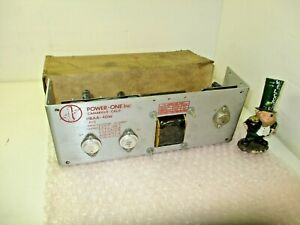 Power one Hbaa 40w Triple Output Linear Power Supply With Over Current Limit Nos