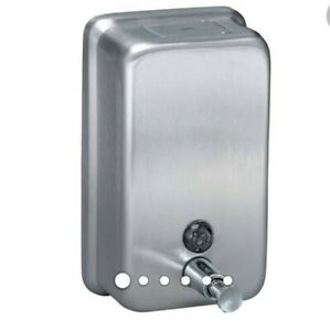 American Specialties Asi Stainless Vertical Soap Dispenser