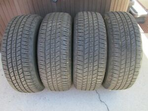 265 65 18 Goodyear Wrangler Fortitude H T P265 65r18 Tires New Take Offs Set 4