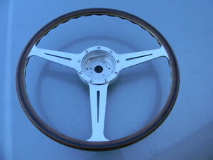 Porsche 356a 420 Mm Flat Wood Steering Wheel 356 Pre A Speedster Cabrio Coupe