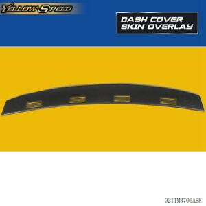 Defrost Molded Dash Cover Cap Cover Overlay For 2002 2005 Dodge Ram 1500 2500
