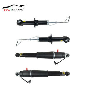 4pc For Cadillac Escalade Yukon 15 19 Front Rear Air Suspension Shock Absorber