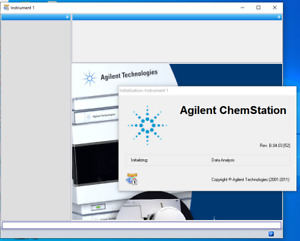 Chemstation Agilent B 04 03 Sp1 For G2170ba Lc 1100 1200 Series