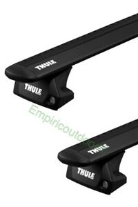 Complete New Thule Evo Roof Rack System Black For Bmw X5 14 20