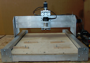 Cnc Wood Router W ballscrews Linear Rails Mach4 V carve Fusion360 Made In Usa
