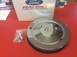 Ford Racing Mustang Shelby 14 Chrome Air Cleaner