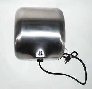 Heavy Duty Stainless Steel Commercial 1800w Automatic High Speed Hand Dryer