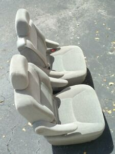 Toyota Sienna 2004 2010 Center Row Seats Matched Set Of Two