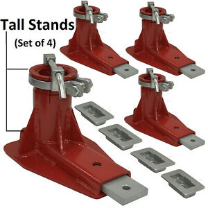 Replacement Chief Frame Machine Tall Anchoring Stands Set Of 4