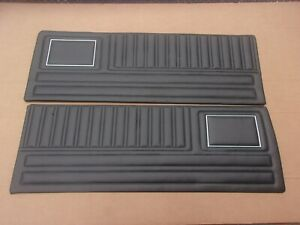 1970 70 Plymouth Duster 340 New Reproduction Interior Door Trim Panel Set