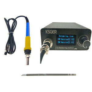 V2 1s T12 Digital Temperature Controller Station Electric Soldering Iron Tips