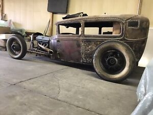 Model A Ford 1928 31 Frame Front Sweep Big Z D Back Rat Rod Hot Rod Unfinished