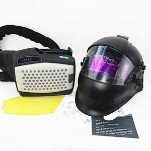 Powered Air Purifying Respirator Welding Mask Personal Protective Equipment New