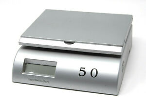 Digital Postal Scale Max Weight 50 Lbs Includes Fresh 9v Battery