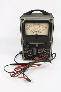 Vintage Sico 670 a Superior Instruments Co Ohms Resistance Meter Tester As Is