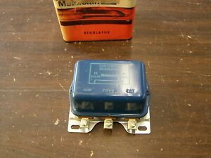 Nos Oem Ford 1960 1961 1962 Galaxie Falcon Voltage Regulator 62 Fairlane 60 Bird