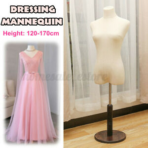 Female Mannequin Dressmaker Model Dummy Display Torso 120 170cm Adjustable