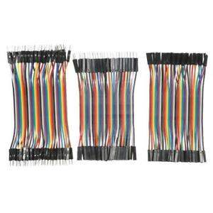 10cm M m F f M f Dupont Jumper Wire Cable For Diy 2 54mm Breadboard N1s5