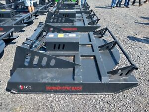 New 6 Jct Skidsteer Skid Steer Brush Bush Hog Mower Cutter Attachment 72